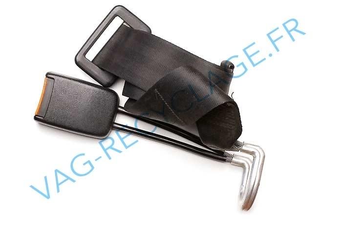 boucle de ceinture arri re et ceinture ventrale pour golf 3 vag recyclage. Black Bedroom Furniture Sets. Home Design Ideas